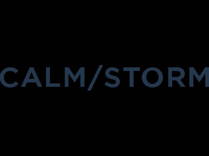 Calm/Storm Logo